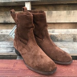 Frye Suede Ankle Boots